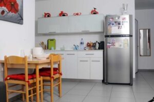 kitchen in Zielony Graduate Student Village