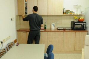 kitchen in Mizrach Hadash for couples