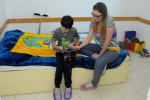 kids bed room in Mizrach Hadash for families